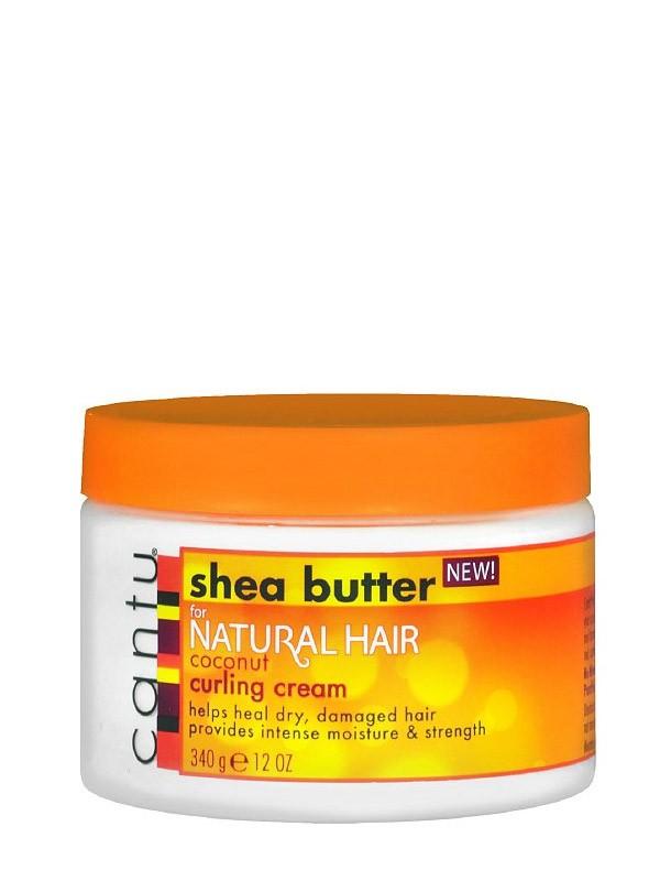 Natural curling cream